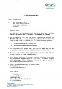 Letter of appointment _Spring Board